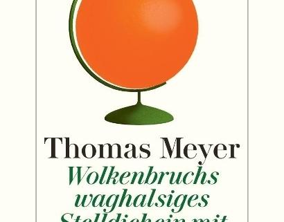Thomas Meyer in der Buchhandlung Breuer und Sohn in Bayreuth