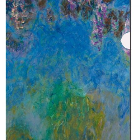 Bayreuth Buchhandlung Bekking Blitz L-Ordner Blauregen Claude Monet