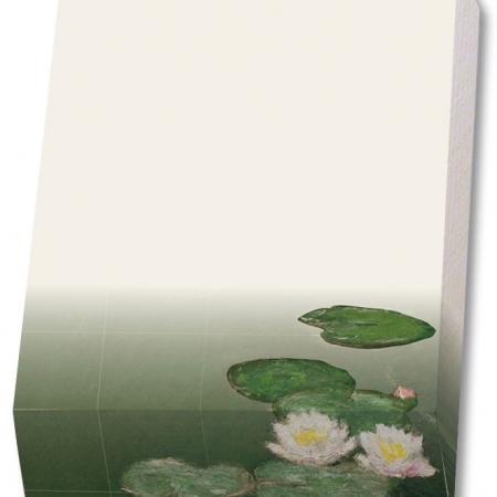 Bayreuth Buchhandlung Bekking Blitz Notizblock Wasserlilien Claude Monet