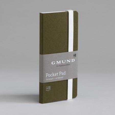 Bayreuth Buchhandlung Gmund Pocket Pad olive