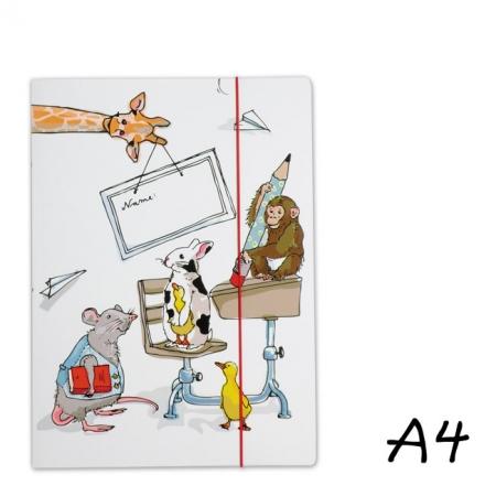 Bayreuth Buchhandlung Krima und Isa Sammelmappe A4 Tiere